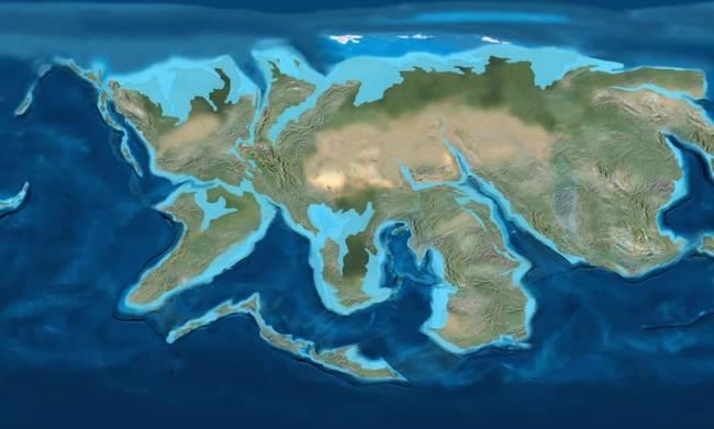"""Za 200 miliónov rokov sa kontinenty posunú tak, že vytvoria jeden súvislý kontinent, ktorý vedci nazývajú """"Pangea Ultima""""."""