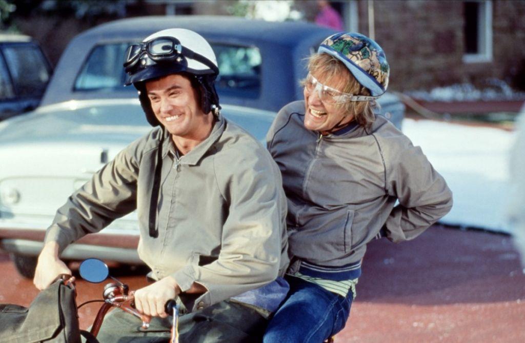 Cieľ putovania Lloida a Harryho malo byť mesto Aspen v Colorade. Dnes by si Aspen pýtalo nehorázne peniaze za  natáčanie.