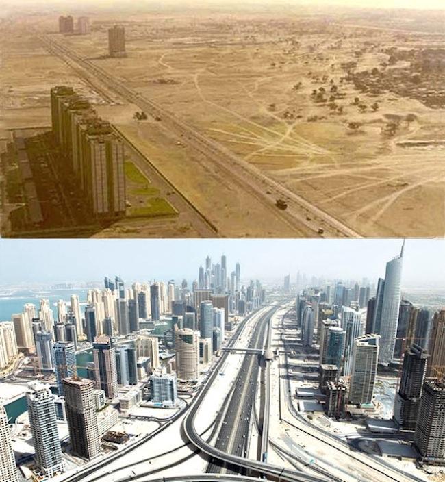 Bohaté mesto Dubai bolo do roku 1990 pusté, všetko sa však zmenilo po príchode investorov.