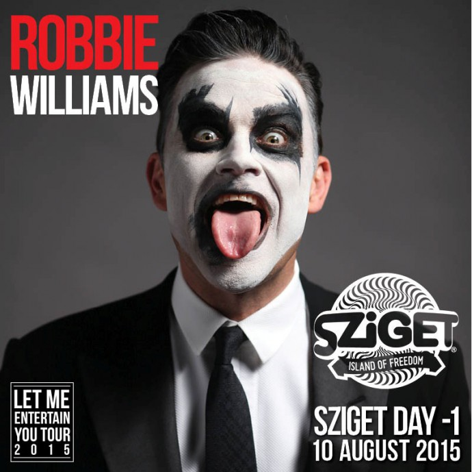 Robbie Williams _ announcement picture_Sziget