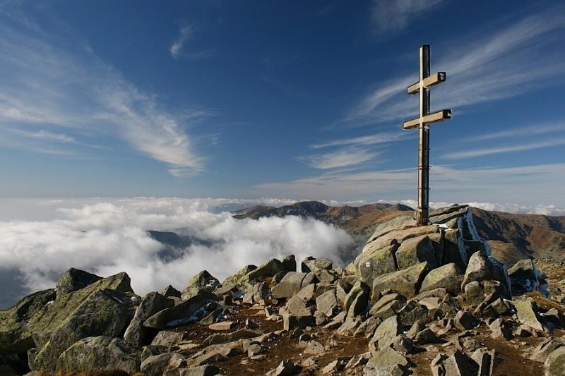 Na ktorom vrchu sa nachádza tento dvojkríž?