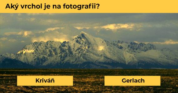 Toto je najťažší kvíz o slovenských vrcholoch: Spoznáte vrch len podľa jedinej fotografie?