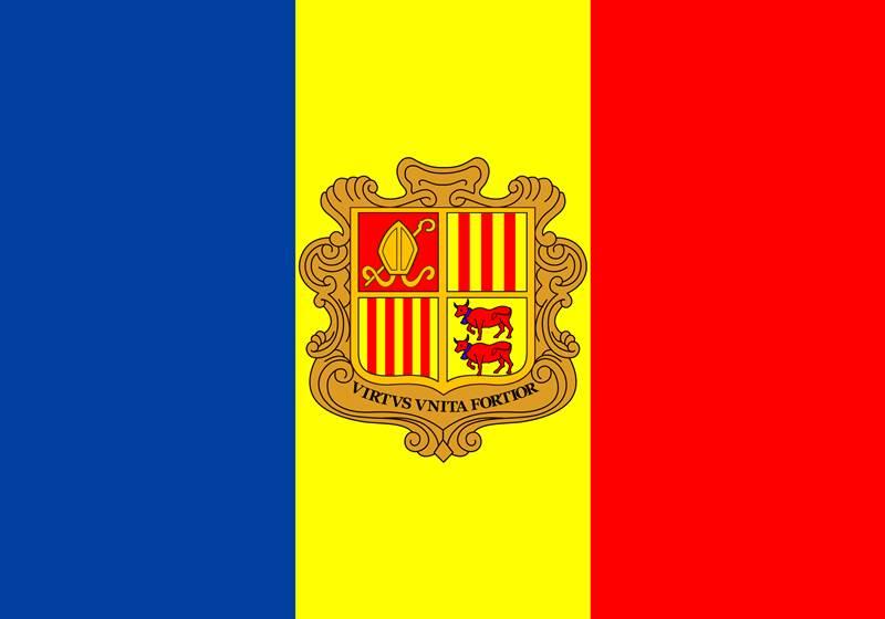 3. Aké je hlavné mesto štátu Andorra?