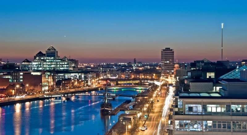 5. Dublin je hlavným mestom:
