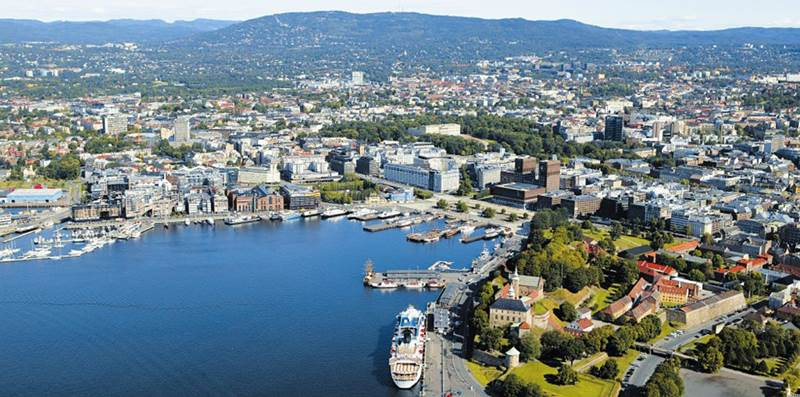 2. V ktorej krajine je hlavné mesto Oslo?
