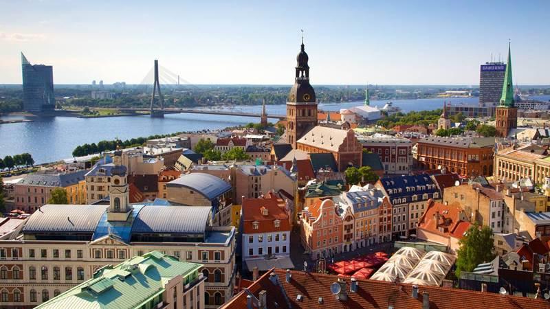 2. Riga je hlavné mesto: