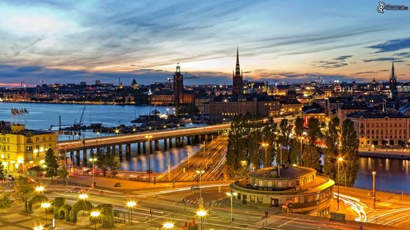 8. Štokholm je hlavné mesto: