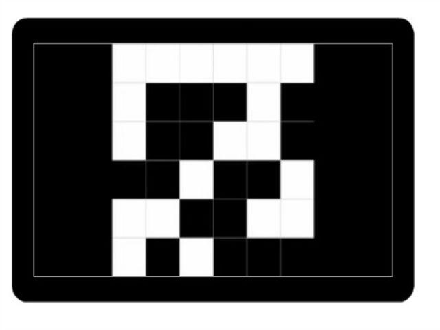 Prezrite si druhý obrázok a určte, ktorý štvorec je biely na tomto a bol aj na predchádzajúcom obrázku. Potom zvoľte OK