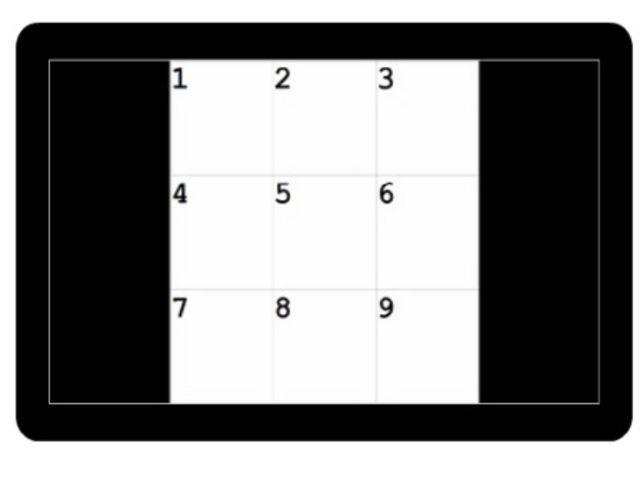 Pozrite sa na tabuľku s číslami. Na ktorej pozícii bol biely štvorec pri obidvoch obrázkoch?