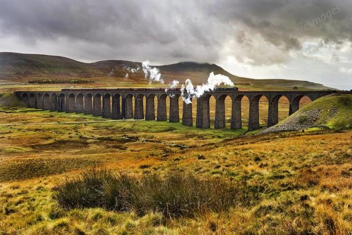 skotsko - viadukt