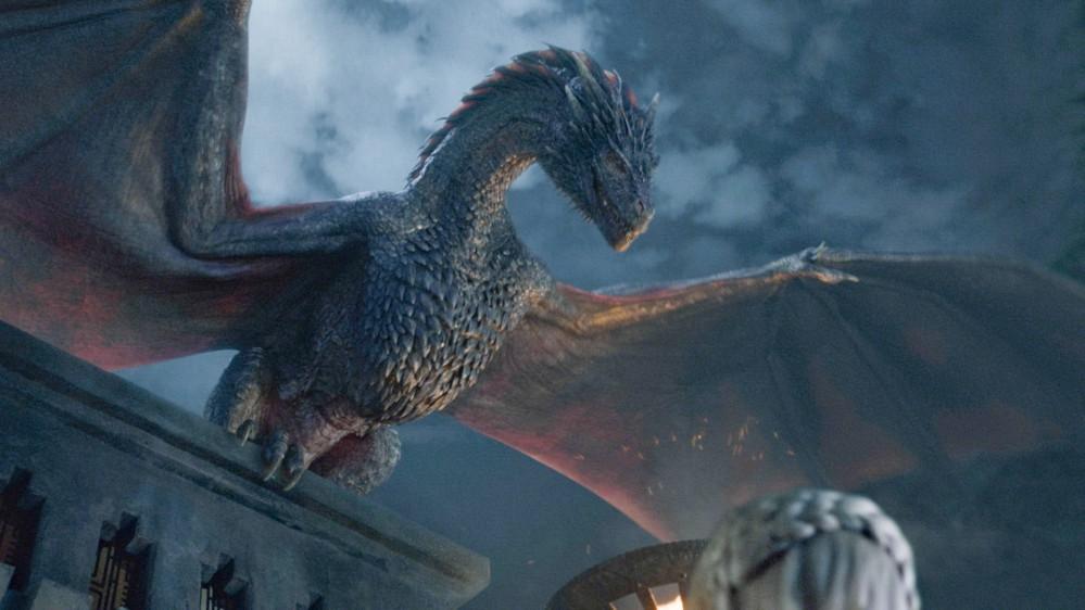 Ako sa volá čierny drak Daenerys?
