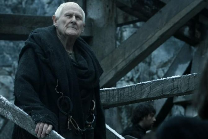 Ako sa volal vlastným menom Maester Aemon?