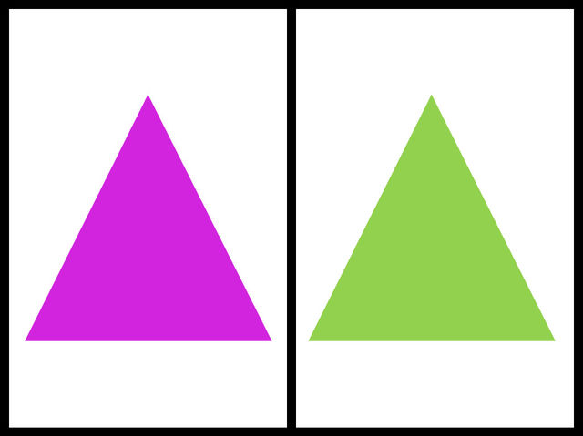 Ktorý trojuholník je väčší?