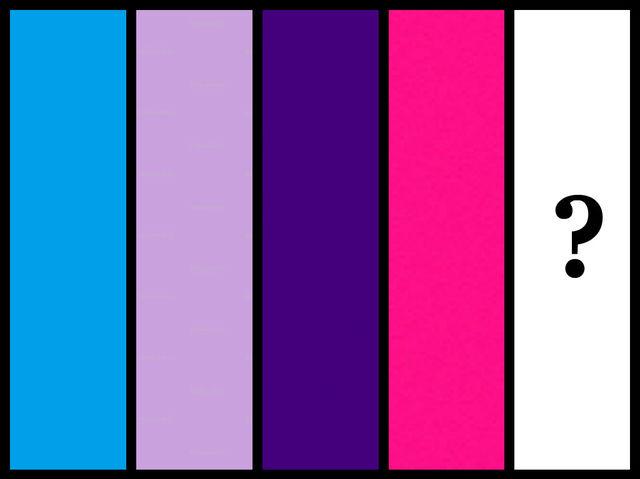 Ktorú farbu by ste doplnili do tejto postupnosti?