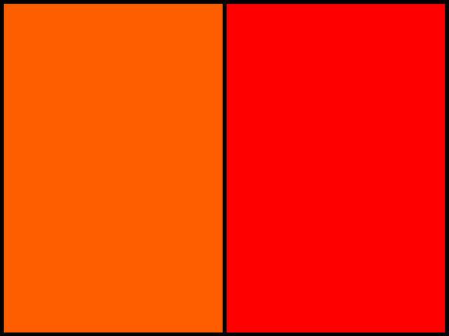 Ktorá farba je svetlejšia?
