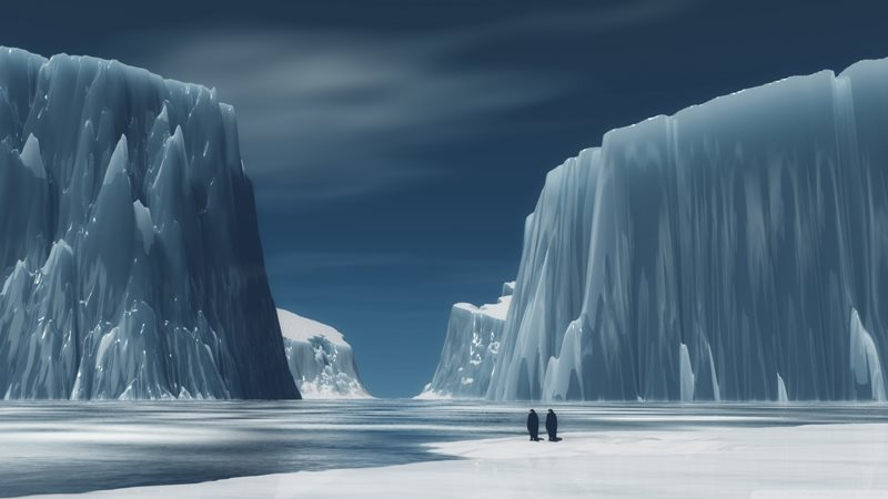 Antarktída nemá žiadneho stáleho ľudského obyvateľa.