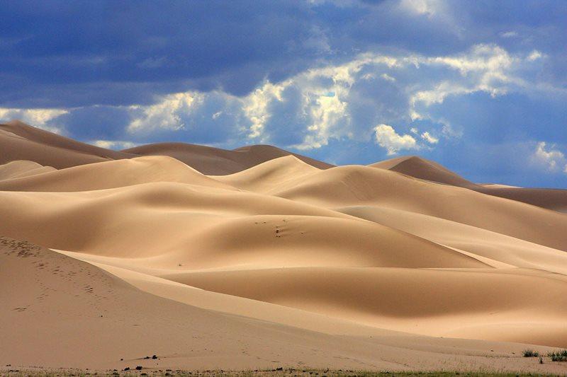Púšť Gobi sa nachádza v: