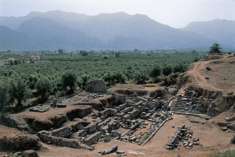 Ak by ste chceli nájsť ruiny starovekého mesta Sparta, do akej krajiny by ste išli?