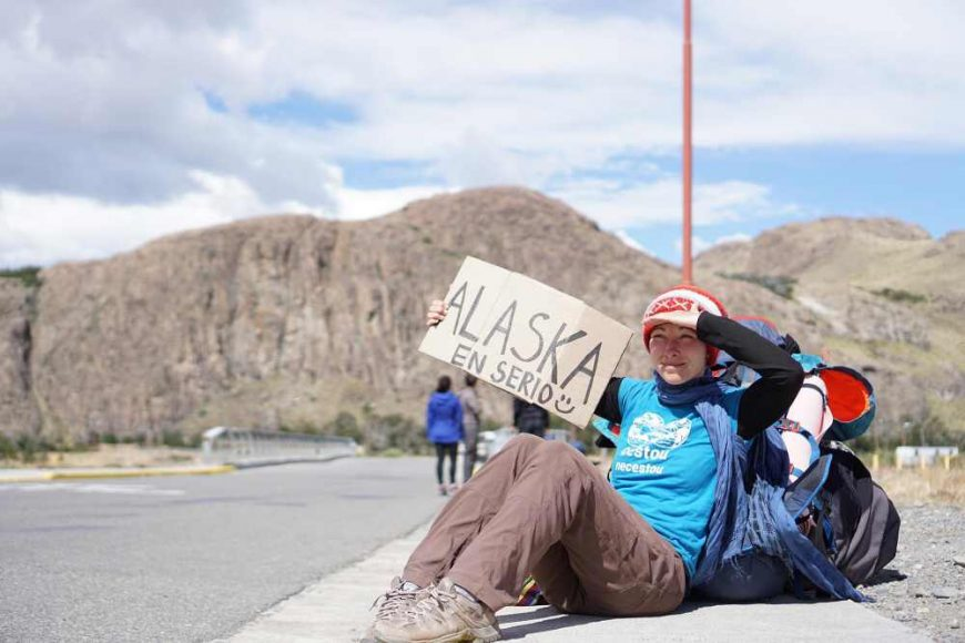 Adriána Hižňanová -Stopom z ohňovej Zeme po Aljašku