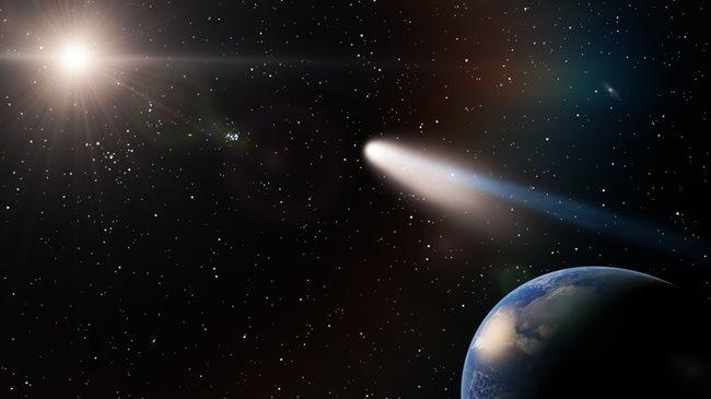 Ako často prechádza okolo Zeme Halleyho kométa?