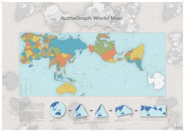 Takto Mozno Bude Vyzerat Nova Mapa Sveta Zobrazuje Verny Obraz