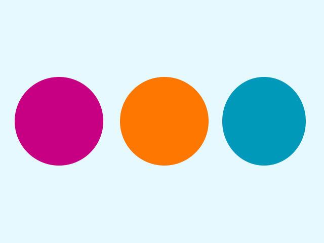 Ktorý z týchto kruhov nie je tak dokonalý, ako ostatné dva?