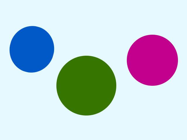 Jeden z týchto kruhov taktiež nie je dokonalý kruh. Ktorý?
