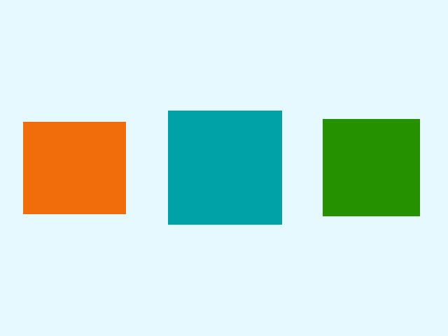 S jedným z týchto štvorcov nie je všetko v poriadku. S ktorým?