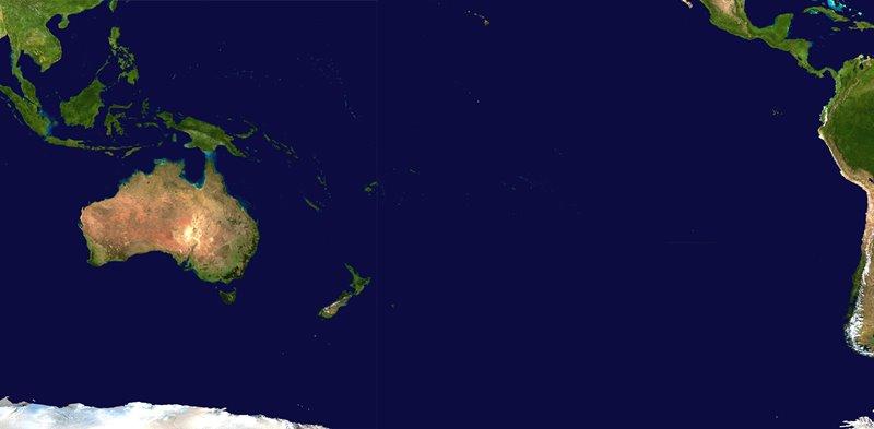 Ktorý z uvedených ostrovných štátov sa nenachádza v Oceánii?