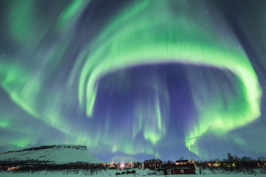 Living under the northern lights