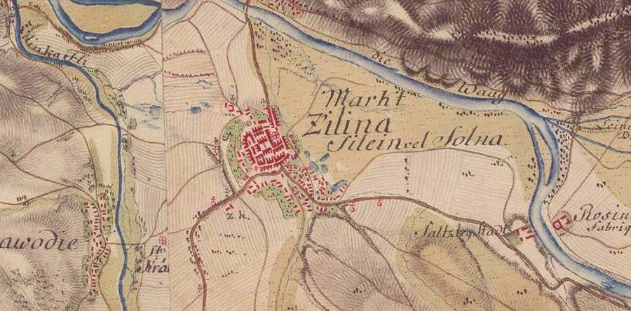 historicke-mapy-zilina-1