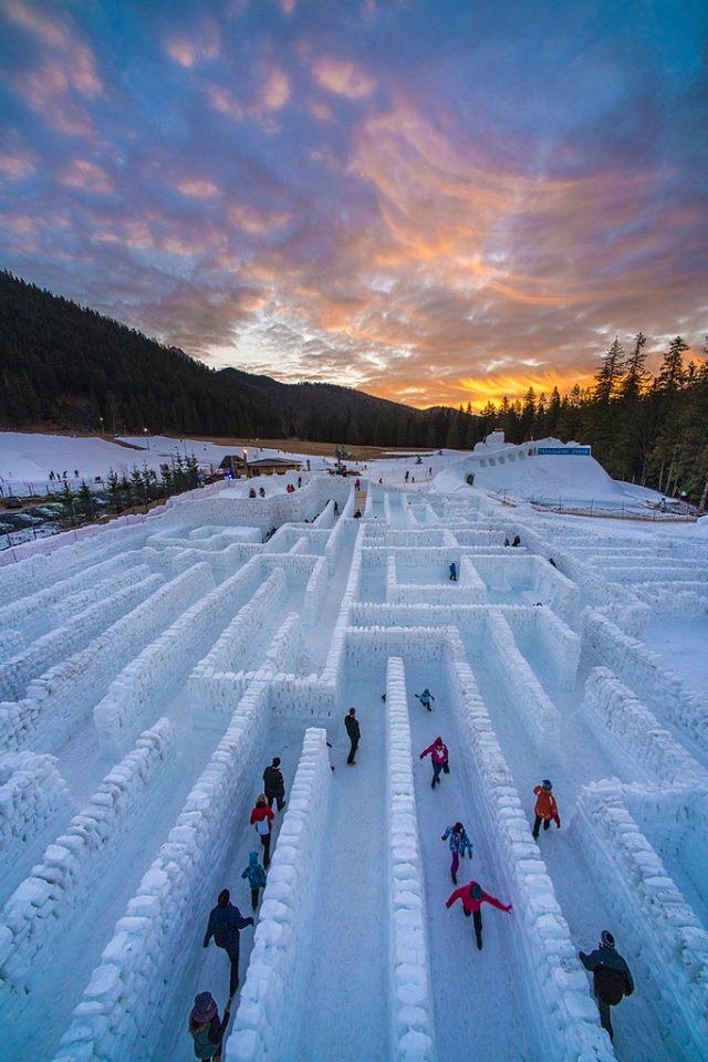 Labirynt Śnieżny/facebook
