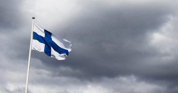 Fínska vlajka