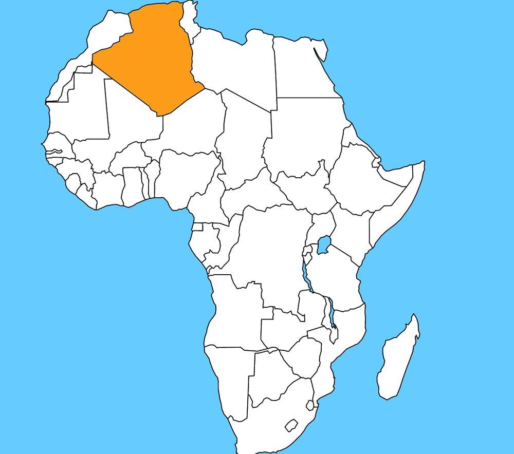 Od roku 2011 je najväčšou africkou krajinou. Je to:
