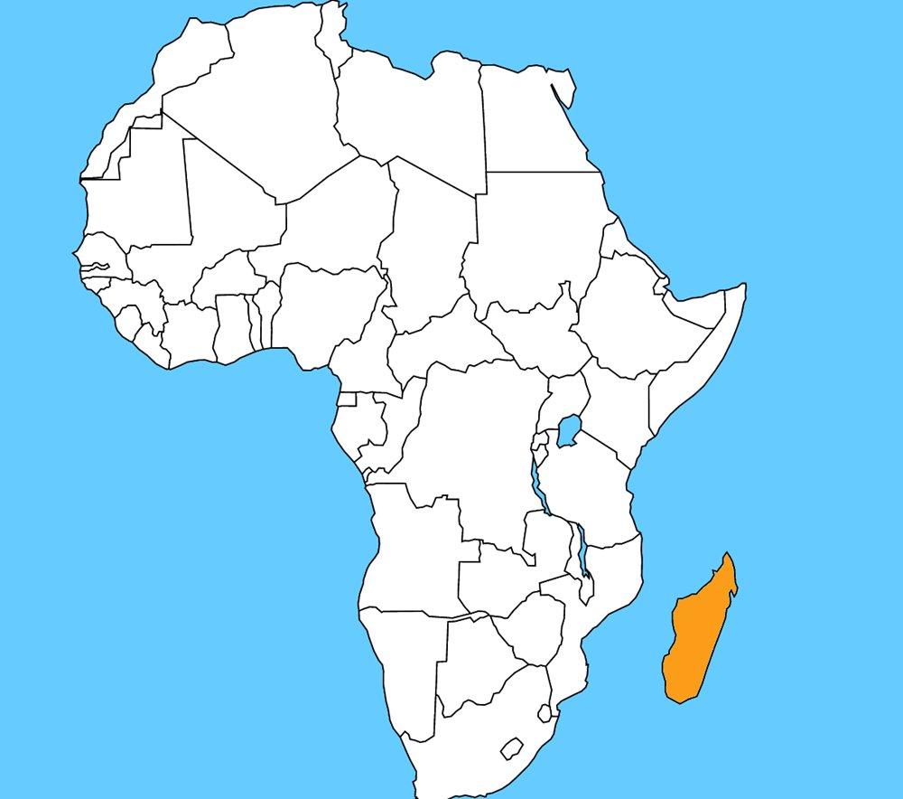 Známy africký ostrov a to aj vďaka Móricovi Beňovskému. Je to: