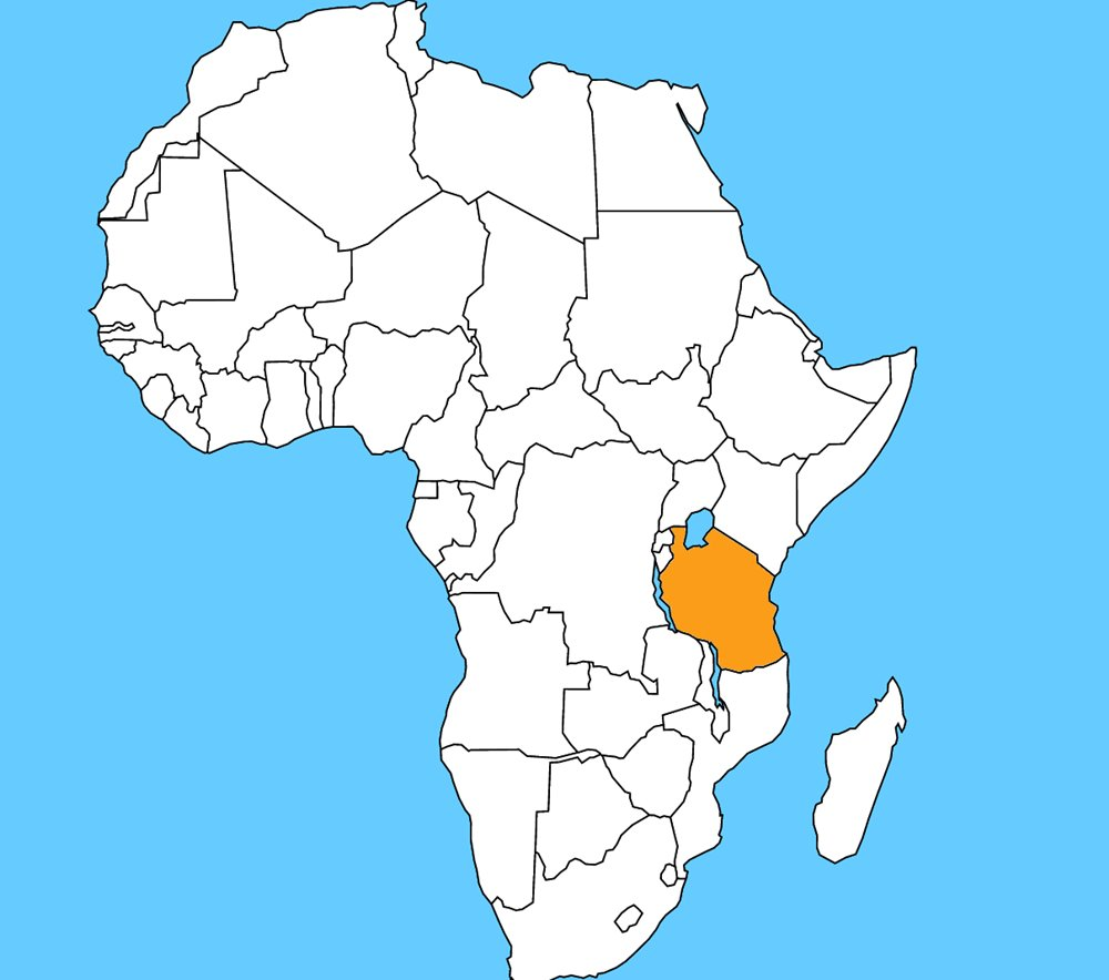 Táto krajina láka mnoho turistov najmä kvôli národnému parku Serengeti, či možnosti výstupu na najvyššiu horu Afriky - Kilimandžáro. Názov krajiny je: