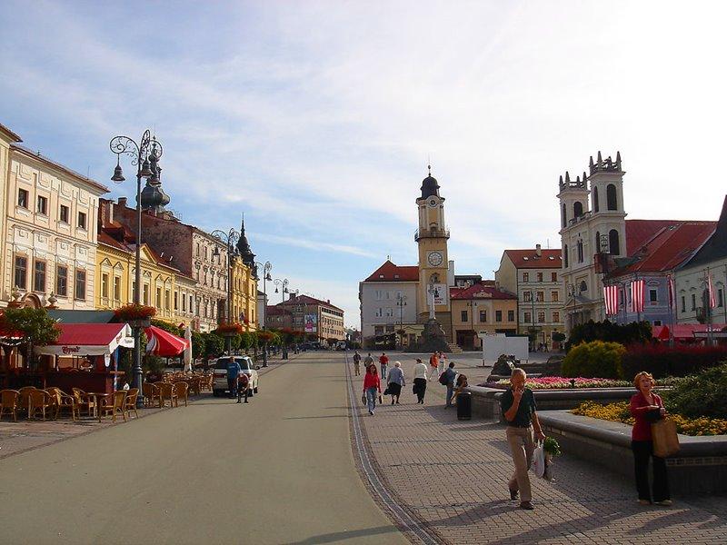 Ktoré mesto má takéto centrálne námestie?