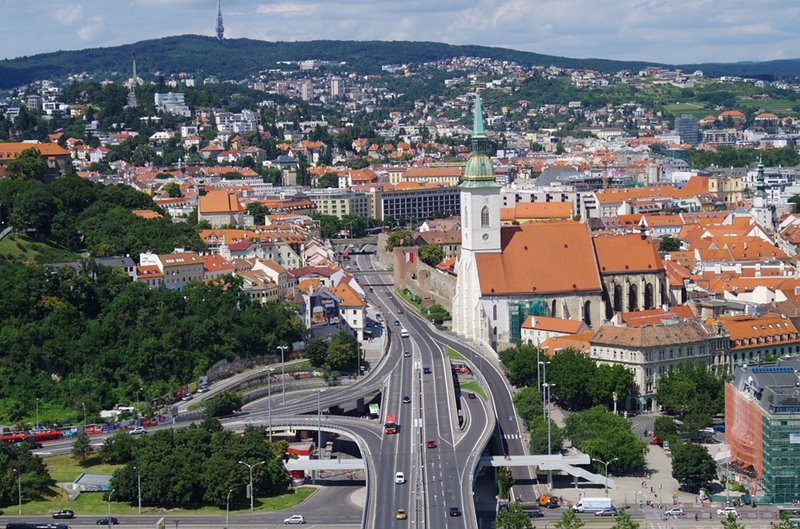 Ktoré mesto sa pýši takouto panorámou?