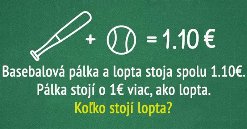 Koľko stojí lopta?