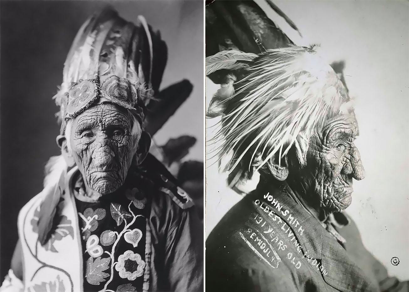 Dožil se 139 let. Seznamte se s nejstarším Indiánem náčelníkem Bílým Vlkem, jaký kdy žil