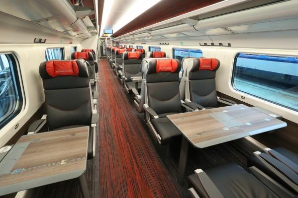 2a0da623292 Vynovený vlak Pendolino, ktorý spája Košice s Prahou