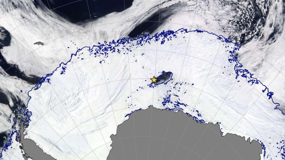 V Antarktíde vznikla diera väčšia d7d869bb38a