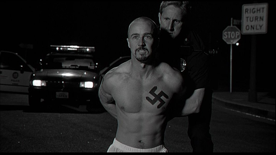 """conflict theory in american history x Sociological theories in the movie american history x updated on december 21, 2016  with a video recorder """"they're a burden to the advancement of the white race"""" such encapsulates the 1998 film, american history x, a controversial and brutal story of racism in a family and the enduring seeds that hate can sow  in a prime form."""