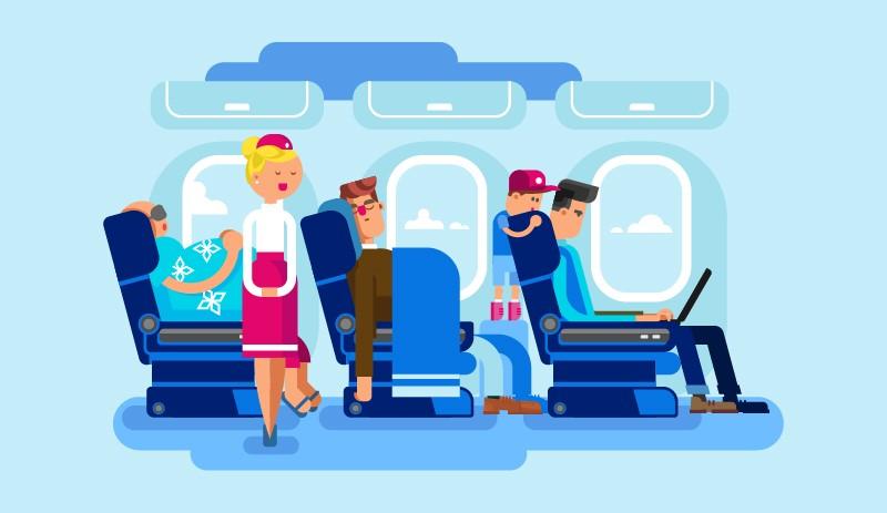 b382205025d13 Pravidlá etikety na letisku a v lietadle: Každý by sa nimi mal riadiť