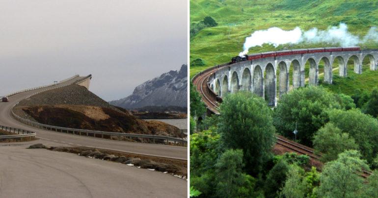 ebe8cee8d Jazda medzi oblakmi či cesta Harryho Pottera. Toto je 10 najkrajších ciest  v Európe, ktoré vyhľadávajú motoristi z celého sveta