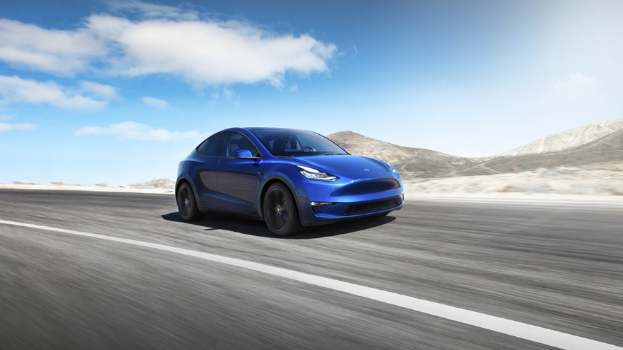 Nová Tesla Model Y (2019)