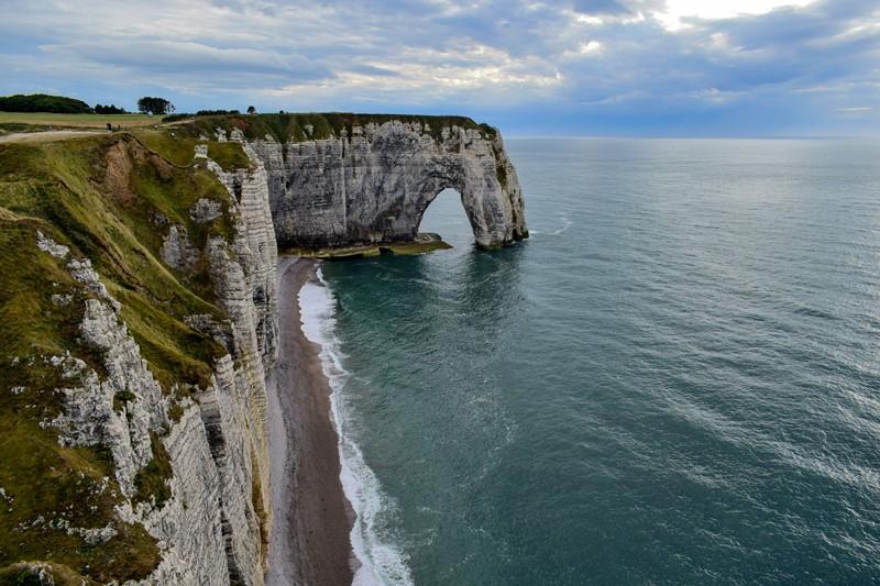 Francúzske pobrežie Atlantického oceánu