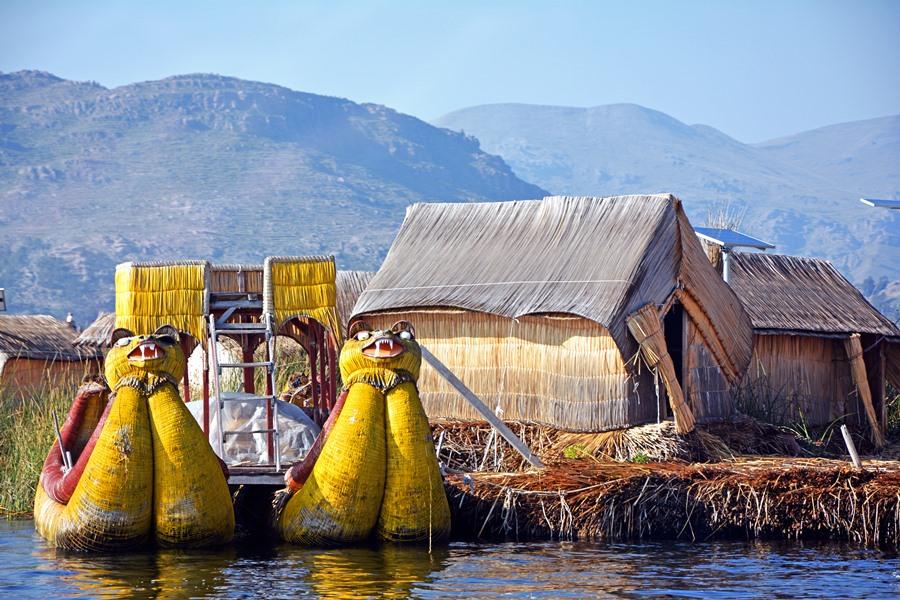 Plávajúce ostrovy Los Uros