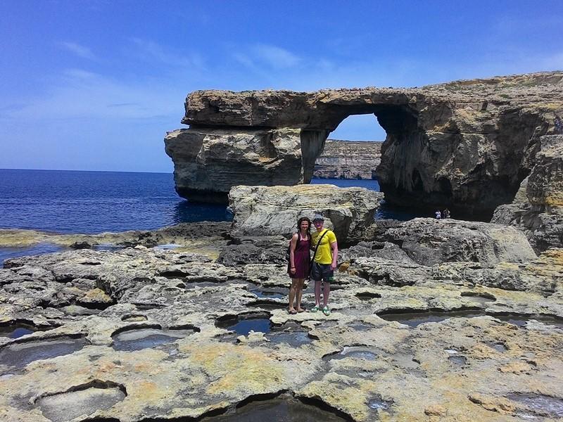 Maltský ostrov Gozo