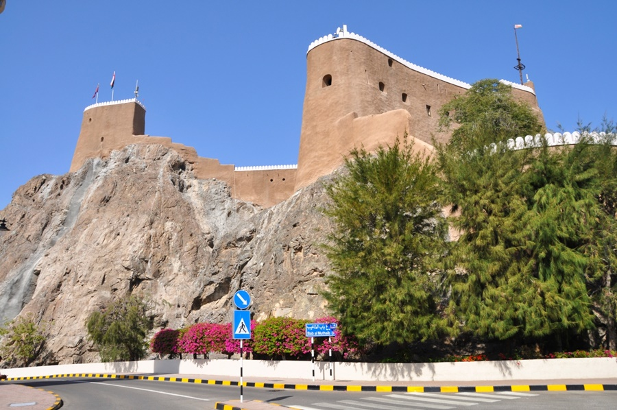 Maskat - pevnosti starého Maskatu